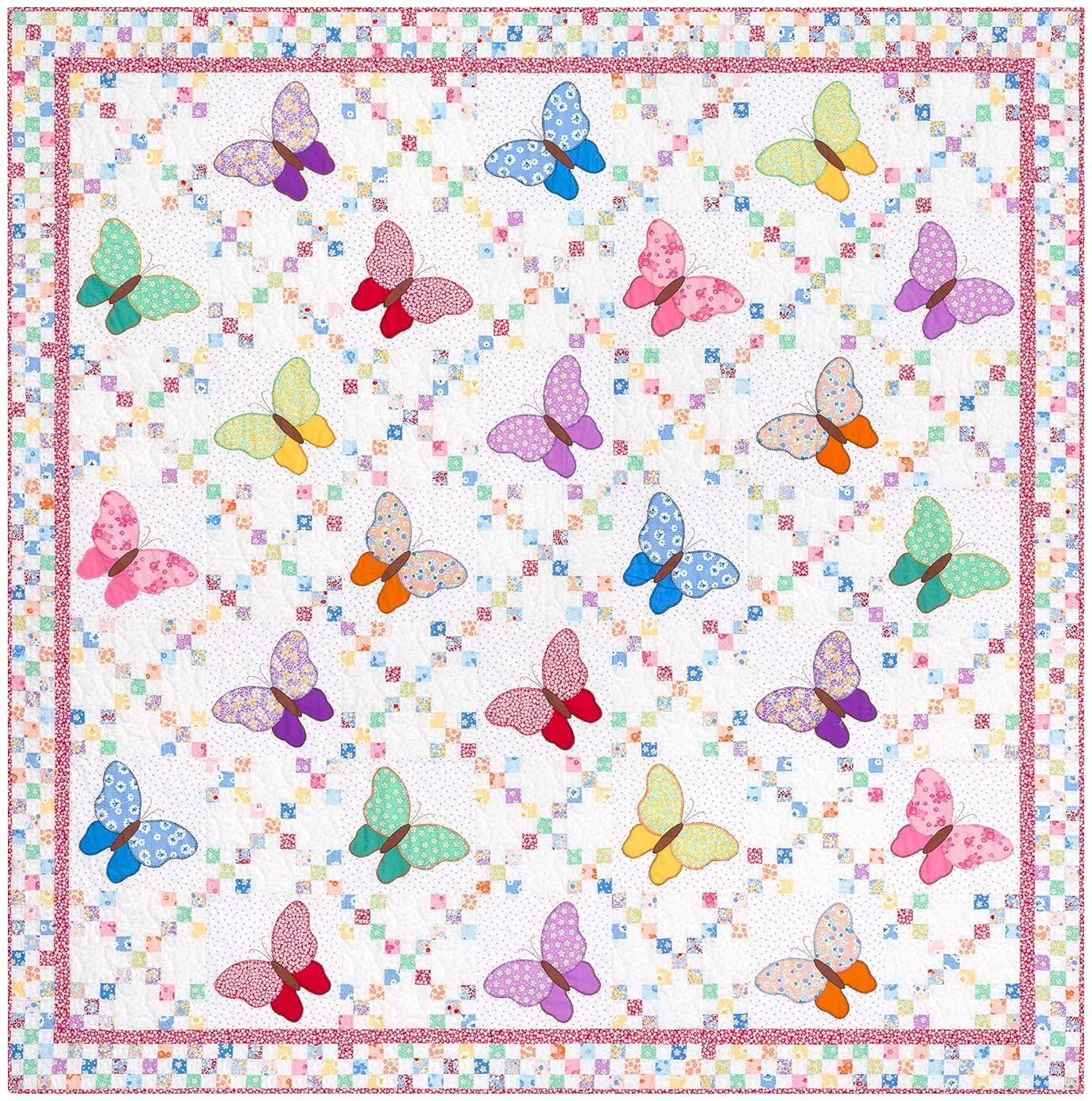 Darlene Zimmerman Aunt Ella's Butterflies Quilt Kit Robert Kaufman Fabrics KITP-1901-22 xqu6952421