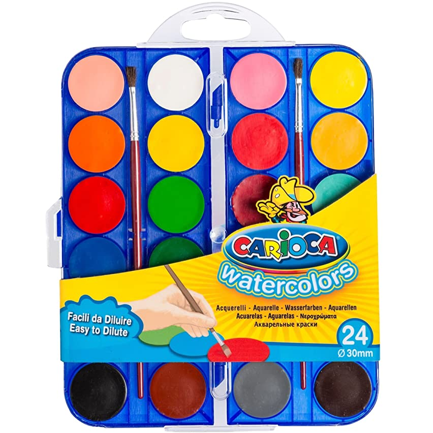 Carioca Watercolour Pencils?–?Painting With Water