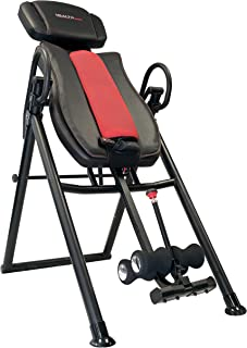 Health Gear ITM7.5 Big & Tall Heat & Massage Inversion Table - Heavy Duty up to 400 lbs.