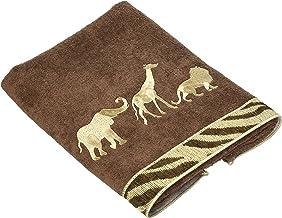 Avanti Animal Parade Hand Towel, Mocha