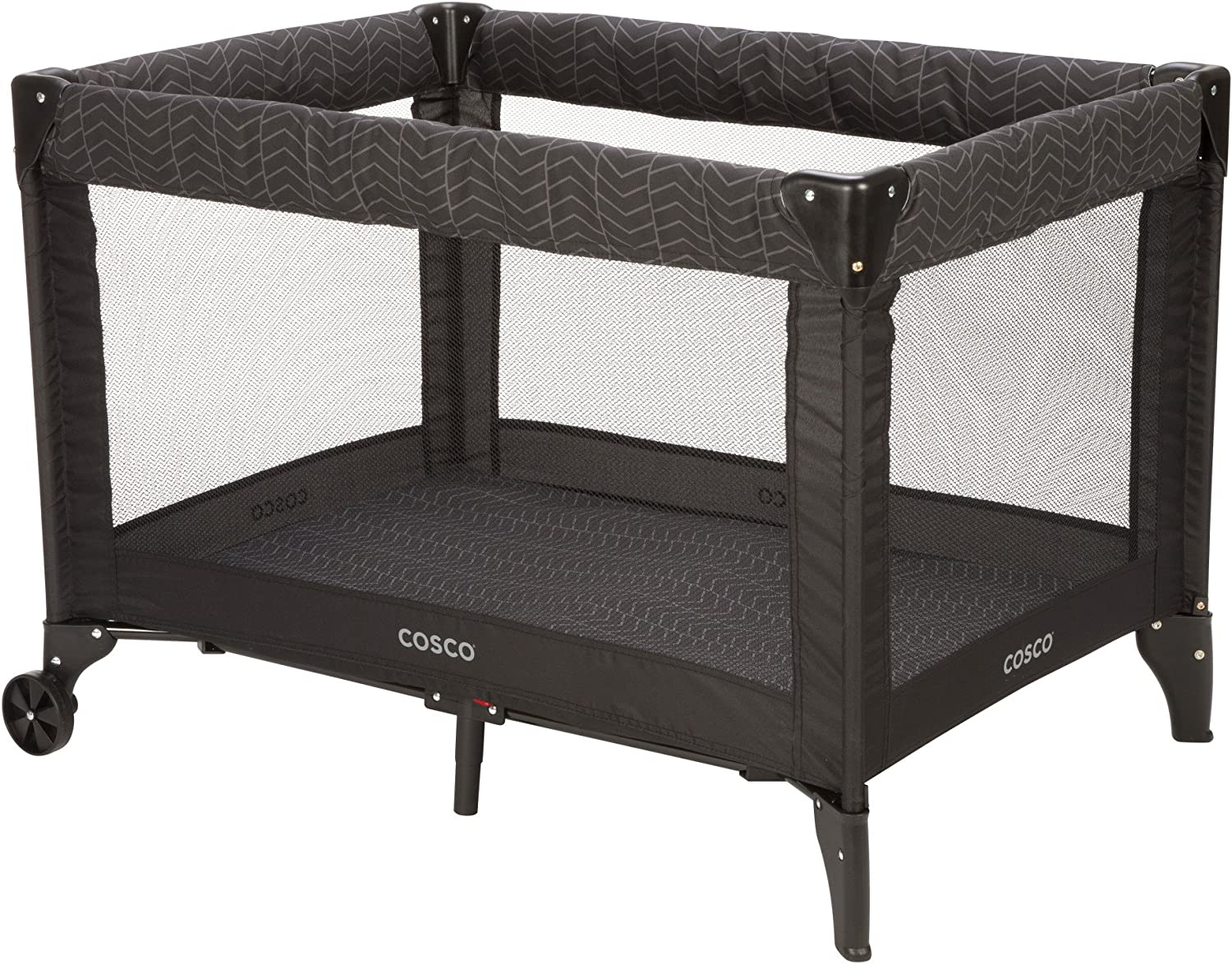 Cosco Deluxe Funsport Play Yard, Black Arrows