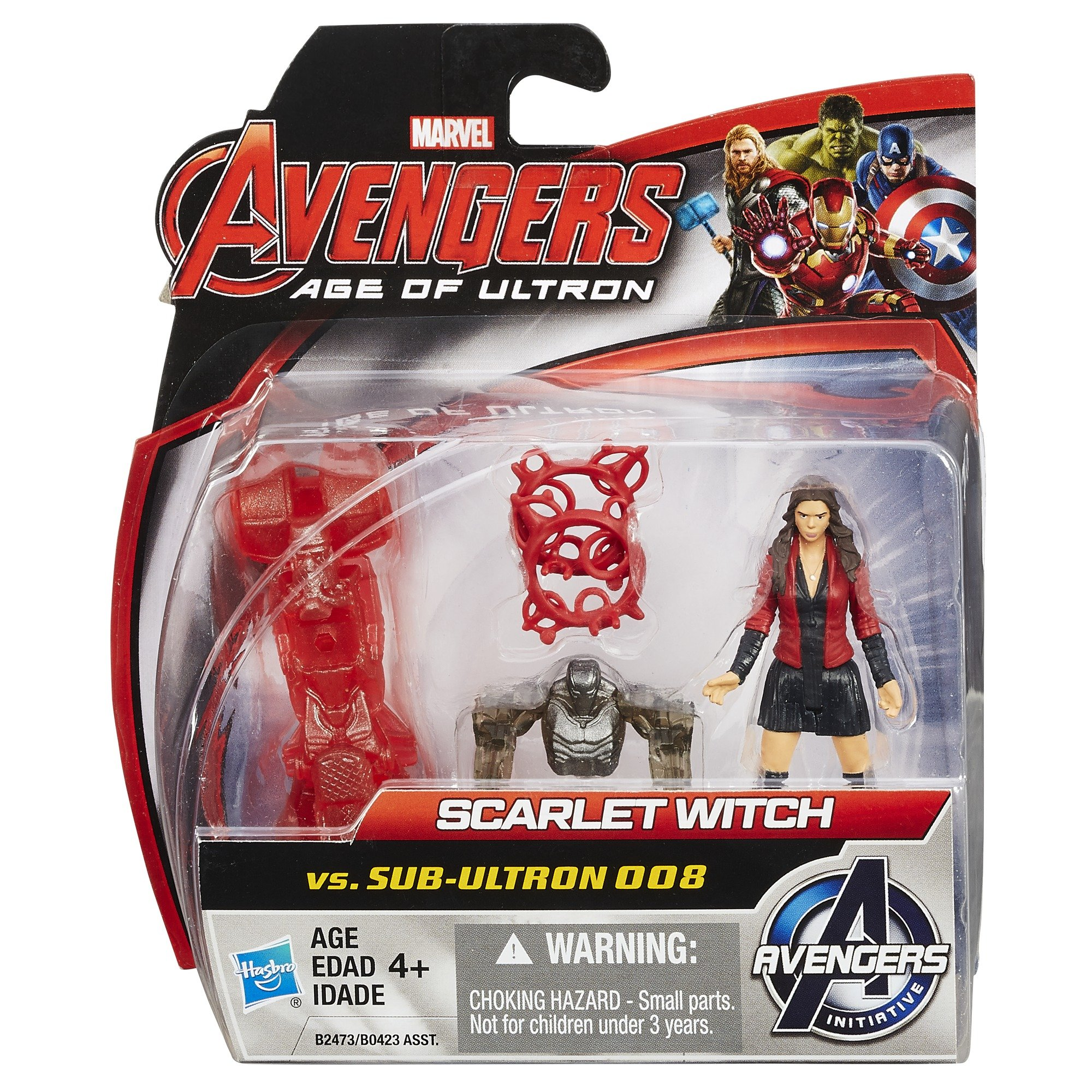 Marvel Avengers Age of Ultron Scarlet Witch vs. sub-Ultron 008
