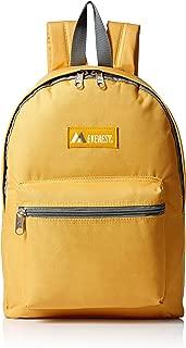 Basic Backpack, Yellow, One Size