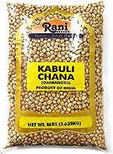 Rani Garbanzo Beans (Kabuli Chana) 8lbs (128oz) Bulk ~ All Natural | Vegan | Gluten Free Ingredients | NON-GMO | Indian Or...