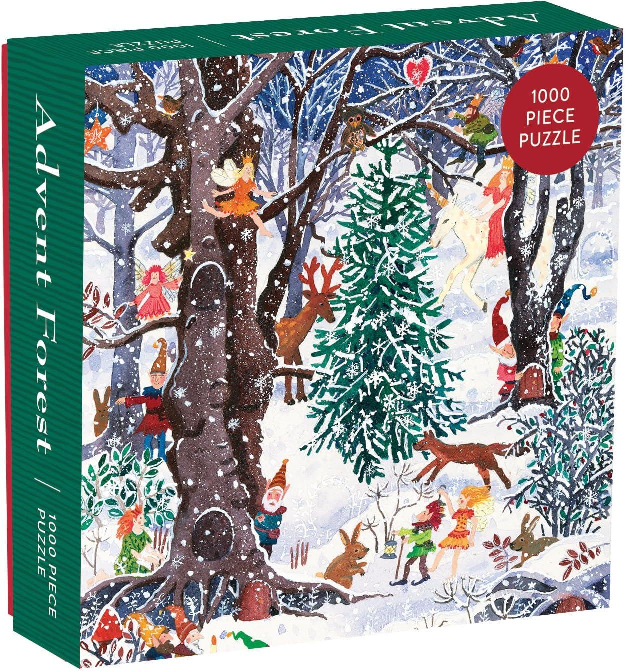 Advent Forest 1000 Piece Jigsaw Puzzle – Fun Indoor Activit