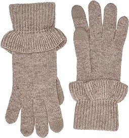 Ruffle Knit Tech Gloves
