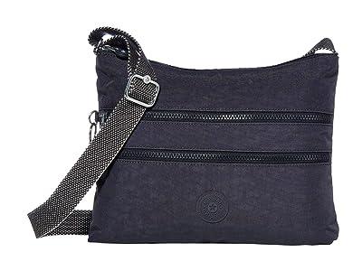 Kipling Alvar Crossbody Bag (Night Grey) Cross Body Handbags