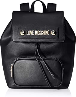 Love Moschino Borsa Natural Grain Pu - Bolso de Mochila