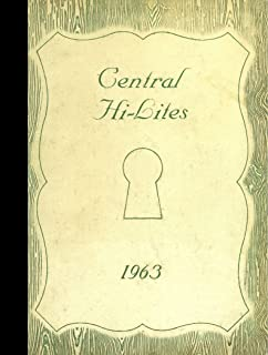 (Reprint) 1963 Yearbook: Monroe Central High School, Parker City, Indiana