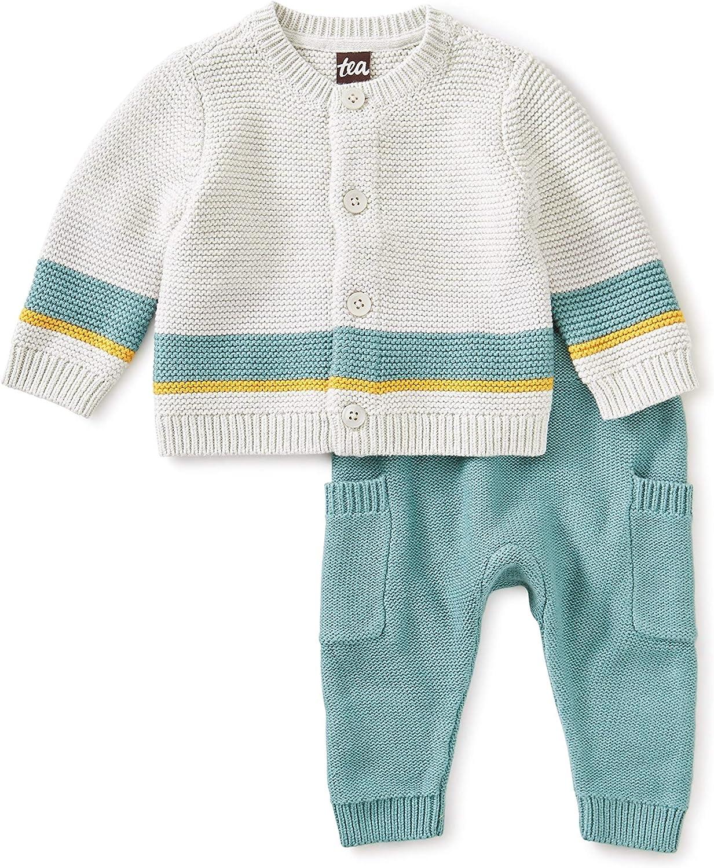 Tea Collection Sweater Set, Light Grey Heather, Multiple