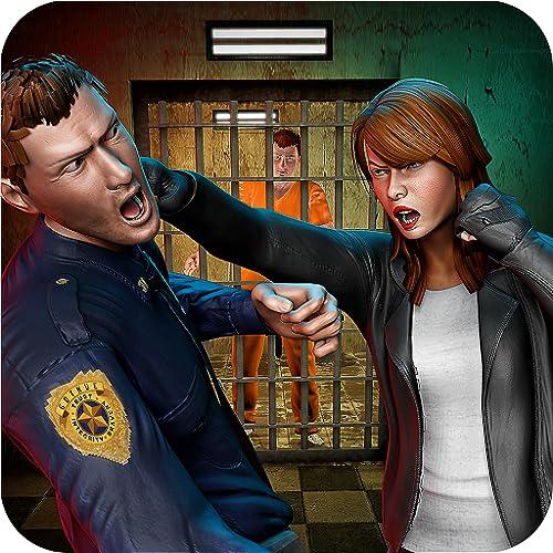 Crazy Mom Prison Escape Survival Mission prisionero Simulator: Criminal Vs Cops Duty En Alcatraz Jail Breakout Game 2018
