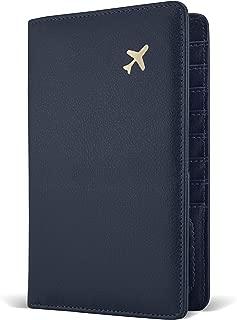 Passport Holder by POCKT - RFID Blocking Travel Wallet for Safe Trip, Document Organizer + Gift Box