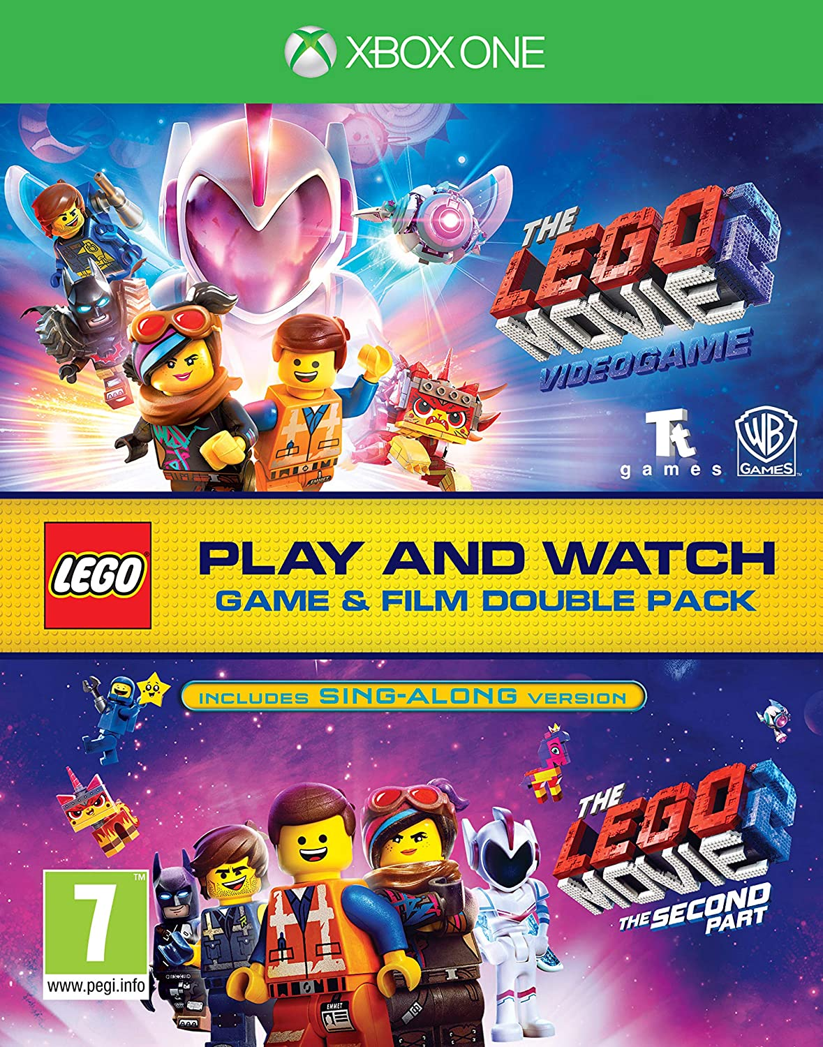 Lego Rare Movie 2 Game Film One Columbus Mall Double Pack Xbox