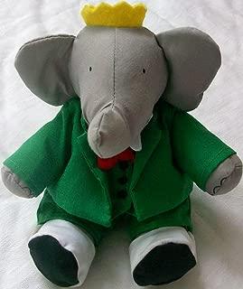 King Babar the Elephant, Plush Doll Toy 10