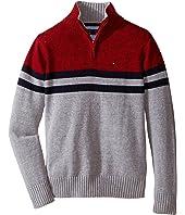 Tommy Hilfiger Kids - Connor 1/2 Zip Sweater (Toddler/Little Kids)