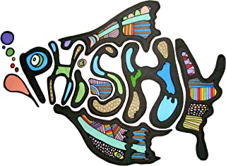 Phish Logo Iron On Transfer for T-Shirts & Other Light Color Fabrics #3