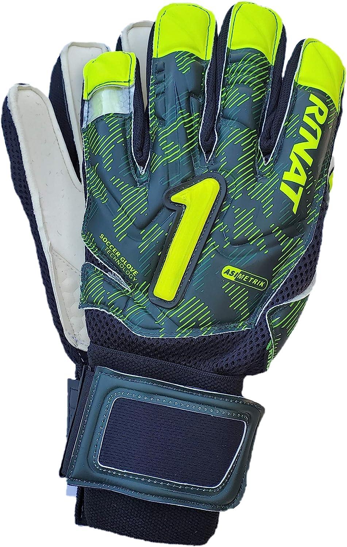 Rinat Goalkeeper Gloves Asimetrik overseas Sem half Hunter Green Spines