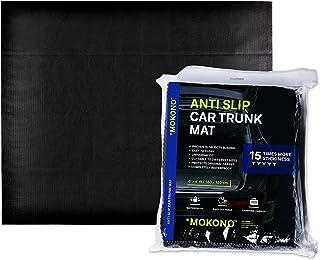 MOKONO®️ Antirutschmatte   extra groß 180x120   schwarz   individuell zuschneidbar   Kofferraummatte für festen Halt im Auto
