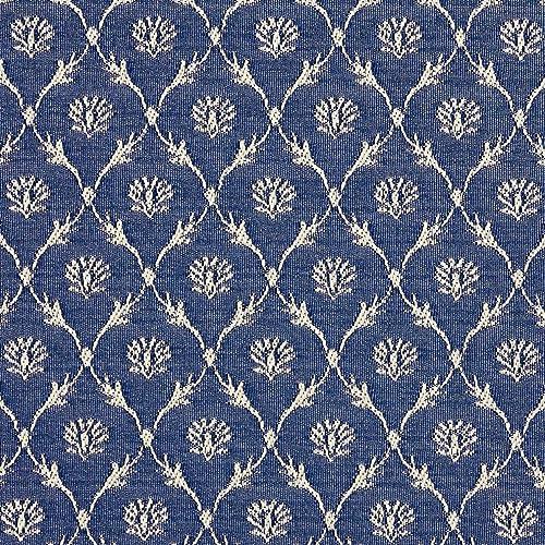Designer Fabric Blue Upholstery Amazon Com
