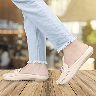 Walky Wear Brand open back loafer mules light weight and comfortable shoes for womens and girls