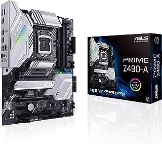 ASUS Prime Z490-A 10a Gen LGA 1200 ATX moederbord met VRM 12+2 DrMOS, Dual M.2, DDR4, LAN 2,5 GB, HDMI, DP, USB 3.2 Gen 2,...
