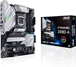 ASUS Prime Z490-A LGA 1200 (Intel 10th Gen) ATX Motherboard (14 DrMOS Power Stages,Dual M.2,...