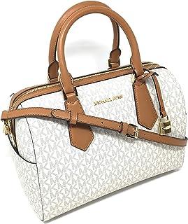 Michael Kors Hayes Large Duffle Satchel Bag MK Signature …