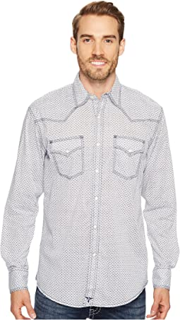 Wrangler - 20X Competition Ac Shirt Snap Print