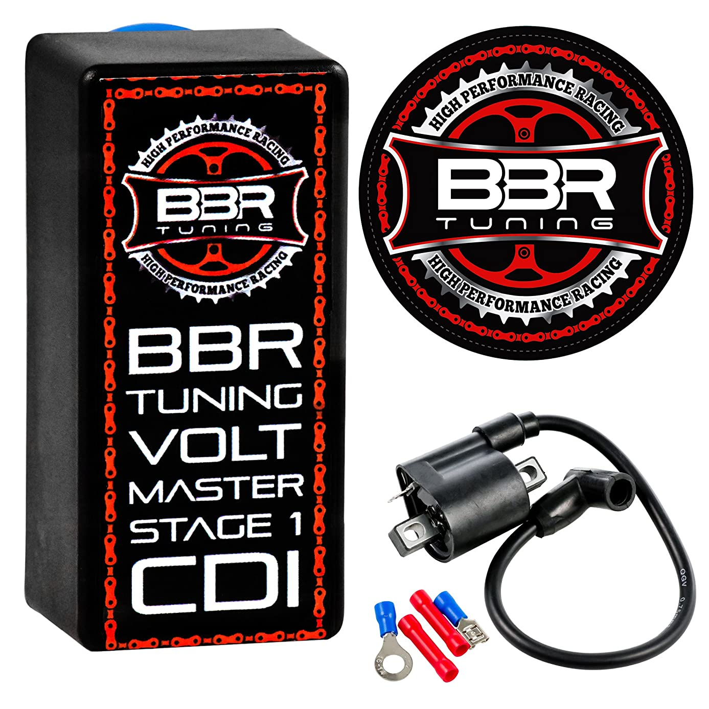 BBR Tuning Volt Master High Performance Motorized Bicycle Racing CDI Electrical Ignition Coil (Volt CDI Stage 1)