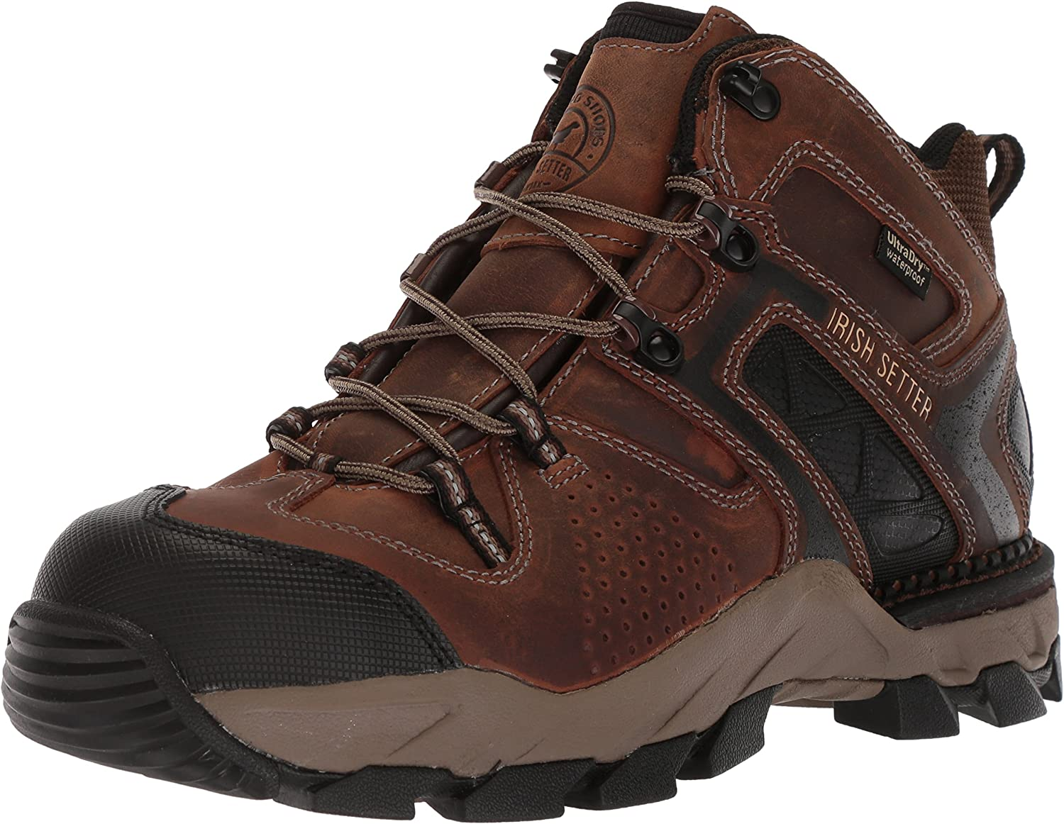 Irish Setter Work Men's Crosby Waterproof Nano-Toe 5  Boot