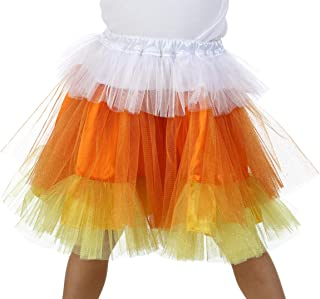 Premium Candy Corn Glitter Skirt