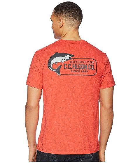 Rojo Filson Filson Camiseta Cardenal Buckshot Camiseta Cardenal Buckshot pIFwq0I
