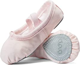 DIPUG Ballet Shoe Ballet Slippers for Girls Toddler Canvas Dance Shoe (Toddler/Little Kid/Big Kid/Women)