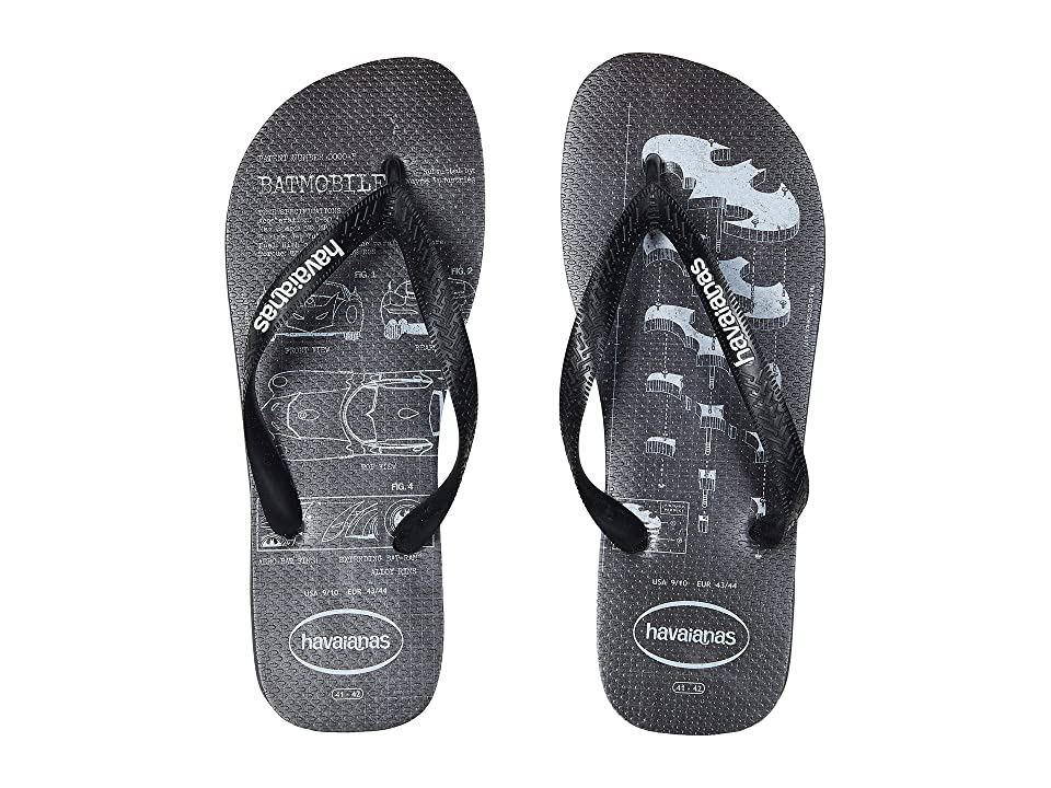 Havaianas Batman Flip-Flops (New Graphite) Men