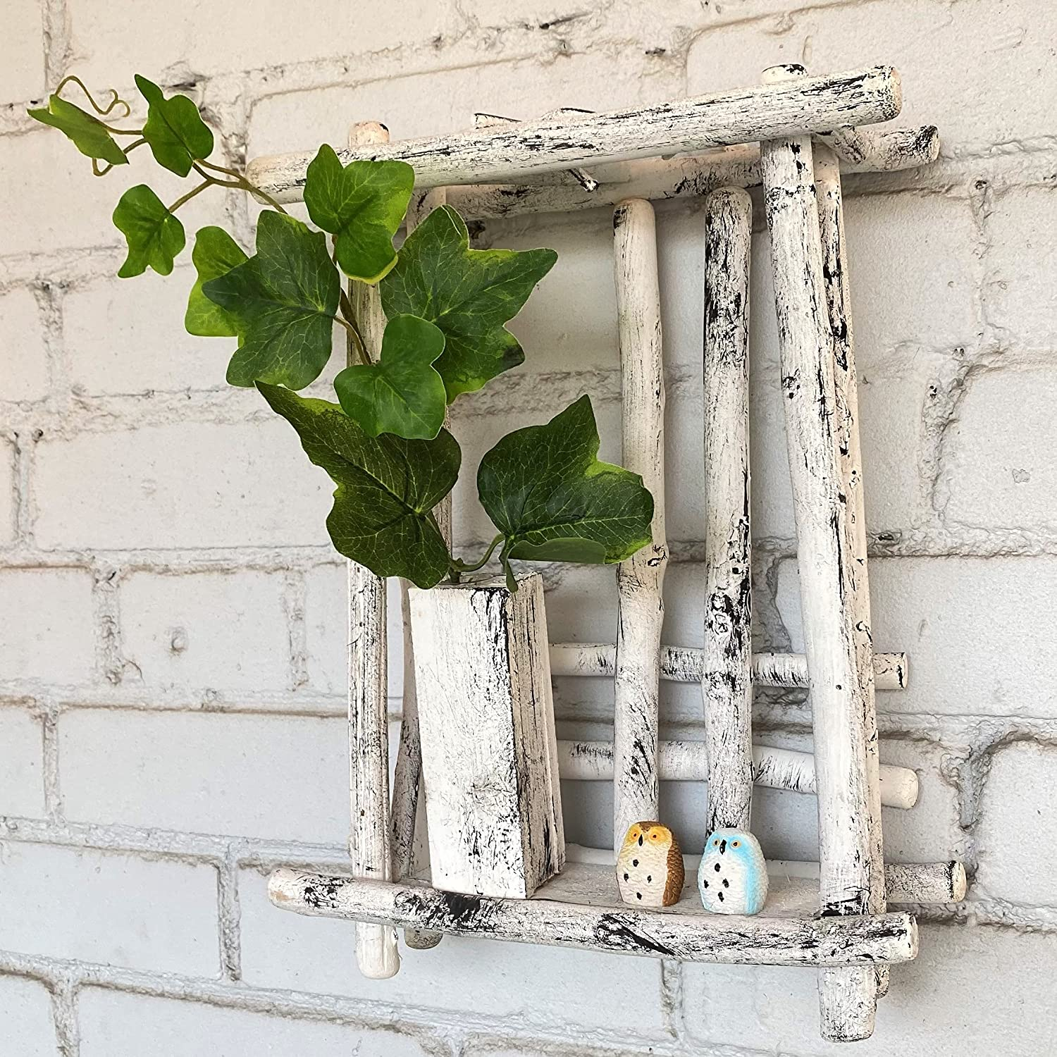 ImprovingLife Wall Vase Decor Driftwood Max 51% OFF Made and Garde Hand Home Max 88% OFF