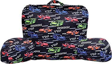 iscream Race Cars Silky Soft Plush Lounge and Reading Bed Support Pillow
