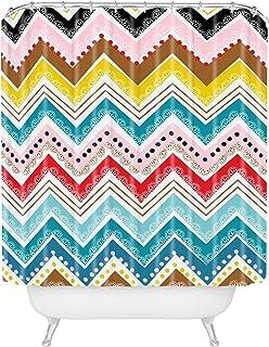 "Deny Designs Khristian A Howell Nolita Chevrons Shower Curtain, 69"" x 72"""