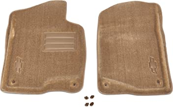 GM Accessories 19159908 Front Carpeted Floor Mats in Cashmere with Bowtie Logo