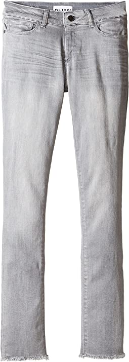 DL1961 Kids Chloe Skinny Jeans in Howl (Big Kids)