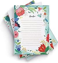 Ceibo Press To Do List Notepads (Set of 3) by Ana Sanfelippo