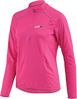Louis Garneau Women's Edge CT Cycling Jersey, Pink Glow, Small
