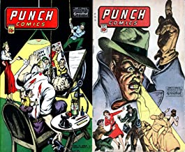 Punch Comics. Issues 9 and 10. World's greatest comics. Golden Age Digital Comics Paranormal.