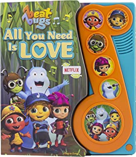 Netflix Beat Bugs - All You Need Is Love Sound Book - Play-a-Sound - PI Kids