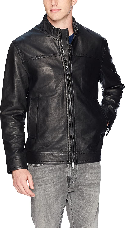 Robert Graham Men's Napoleon 2 Leather Jacket