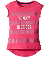 Tommy Hilfiger Kids - Stripe Graphic (Big Kids)