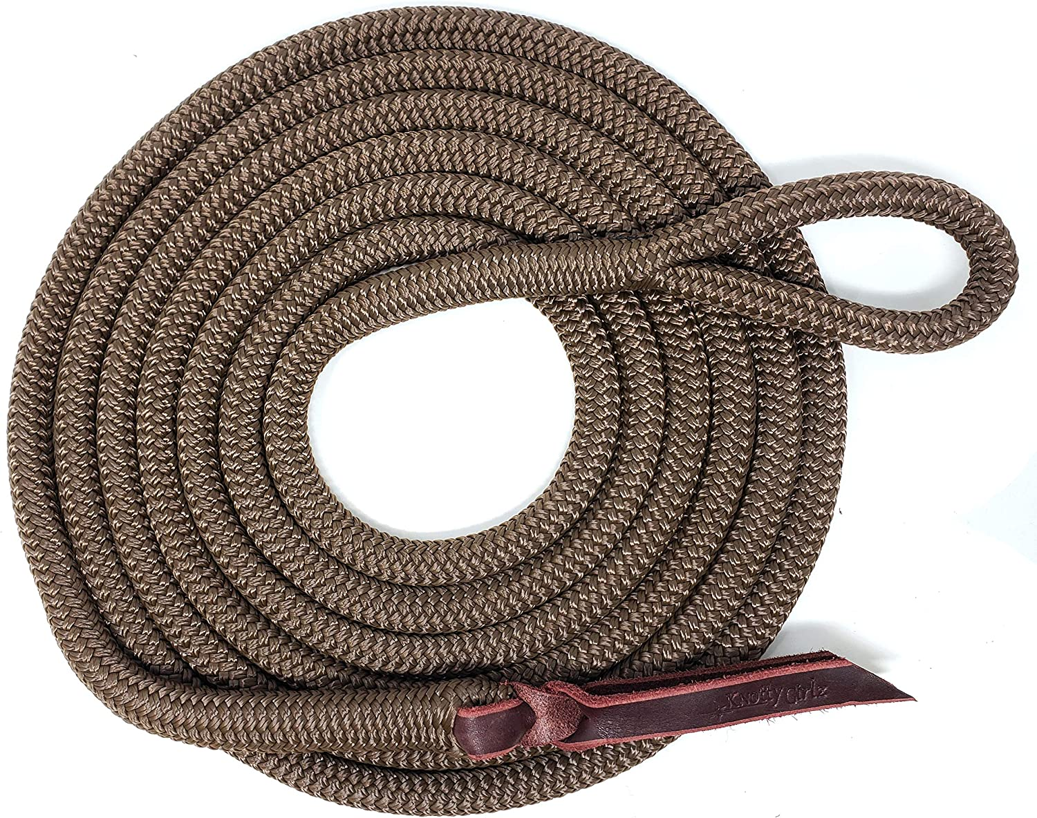 Knotty Girlz 9 Max 85% OFF 16 Double Braid Yacht N Polyester Horse Rope Seasonal Wrap Introduction Lead