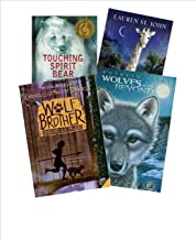 Adventure Series Mix (Grade 4 -7): Lone Wolf (Wolves of the Beyond Series Book #1); Wolf Brother; Touching Spirit Bear (An...