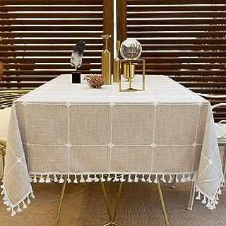 Cotton Rectangular Tablecloth Rectangular Table 140x240 cm Night Christmas
