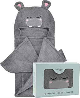 Hooded Baby Towel - Ultra Soft, Highly Absorbent and Hypoallergenic Hooded Towel for Kids - 40
