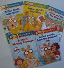 Arthur Chapter Books: Arthur's Mystery Envelope; Arthur and the Scare Your Pants Off Club; Arthur and the Lost Diary; Arthur and the Big Blow Up; Arthur Rocks with Binky (Book sets for Kids : Arthur Series by Marc Brown)